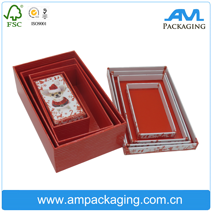whole sale empty rigid storage gift box for market retail