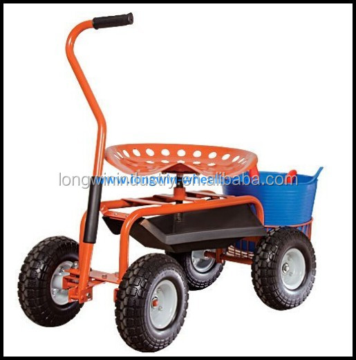 Garden Caddy On Wheels : Garden caddy tractor seat on wheels buy
