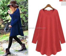 New Fashion 2014 Autumn Winter Dress Women Casual Denim Elegant Dresses Factory Suppliers