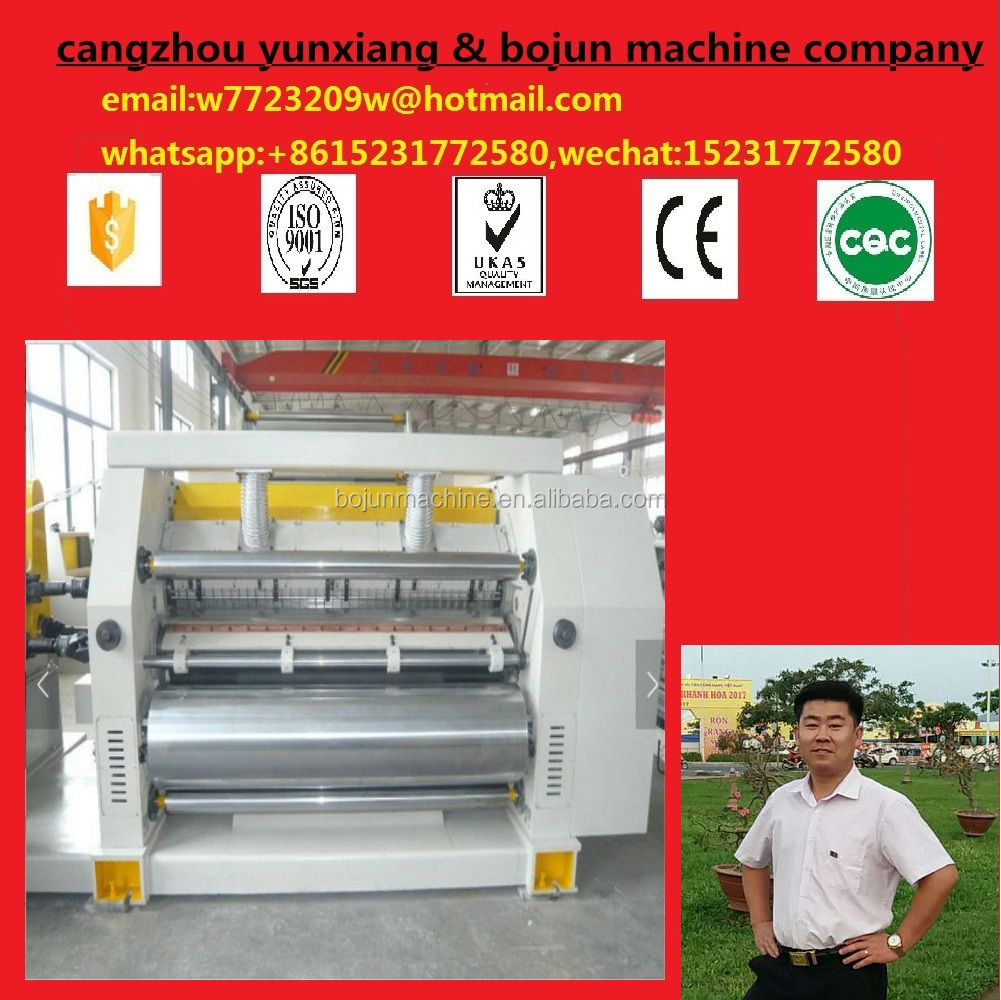 BOJUN die cutting machine Factory Supply 2 Ply Corrugated Board Sheet Cutting Machine