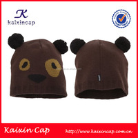 Kids animal beanie hats wholesale custom winter knitted animal hats