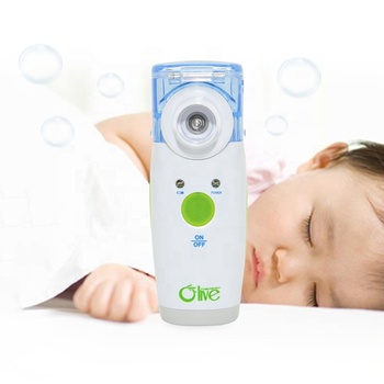 Battery Operated Medische Kleine Vernevelaar Machine Voor Pediatric