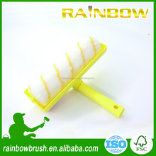 ceiling paint roller brush with plastic cover