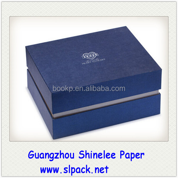Popular handmade kraft paper gift box jewelry package