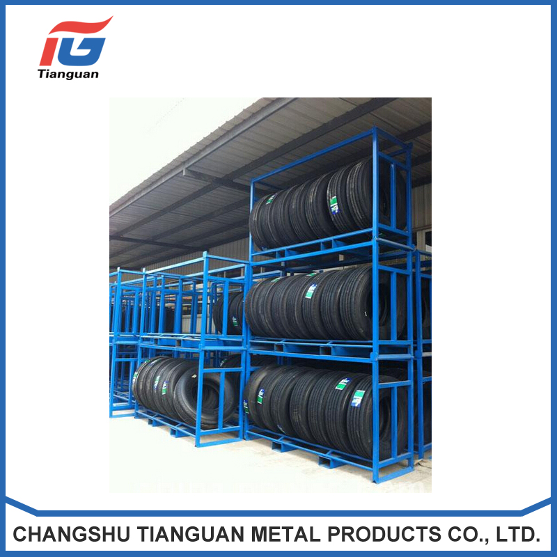 Eco friendly tyre warehouse racking systems tianguan