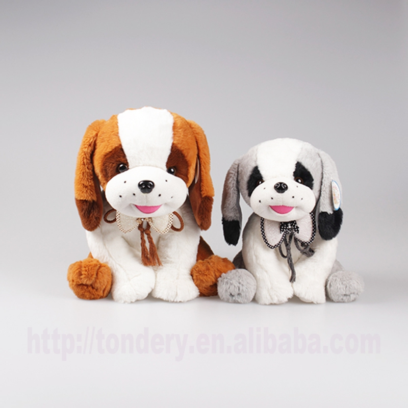 hot selling certified customized cute stuffed soft dog handmade plush toys