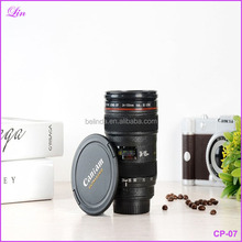Free Shipping by DHL/FEDEX/SF 400ML Creative Camera Lens Plastic Tea Coffee <strong>Cup</strong>
