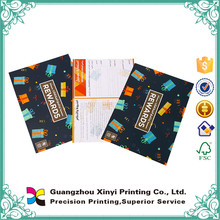 Made in China promotion fancy full color offset paper flyer printing