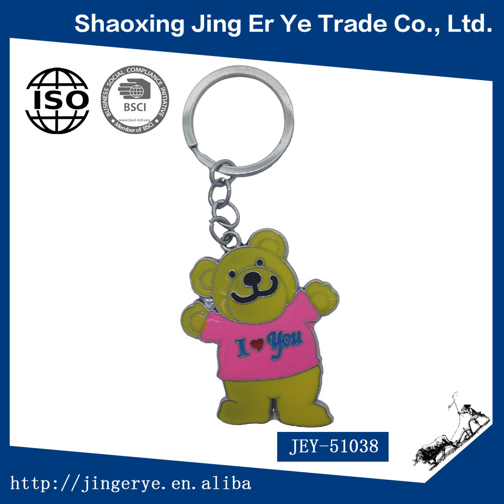 Cheap Promotion Giveaway Gift Winnie The Pooh Keychain