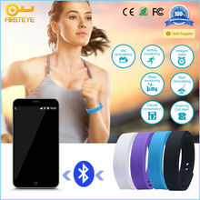 China wholesale pedometer smart wristband silicone sports smart bracelet Bluetooth 4.0 wristband for mobile phone accessories