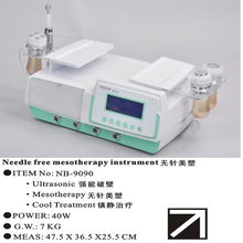 Microcurrent face lift machine mesotherapy injections for sale ND9090