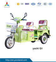 2016 Hot Sale Three Wheel Electric Tricycle For Passenger Seat