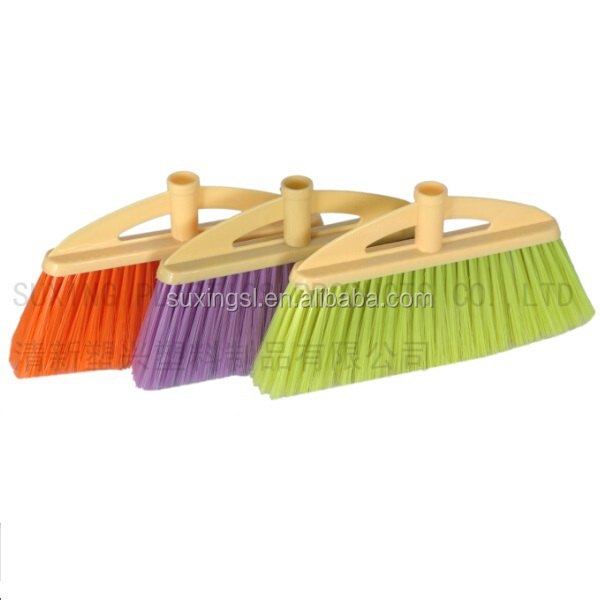 Home cleaning brush plastic sweep broom