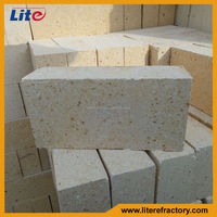 65% 75% Al2O3 High Density High Alumina Refractory Ladle Lining Brick for Steel Furnace