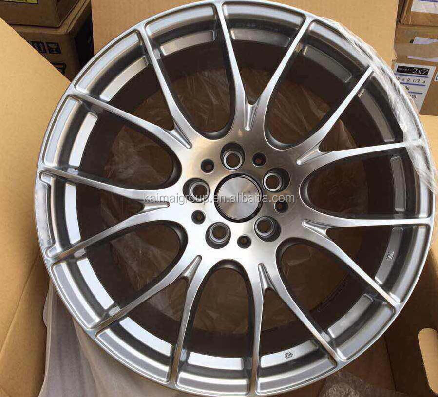 20in forged aluminum black matt alloy wheel made in Japan ET40