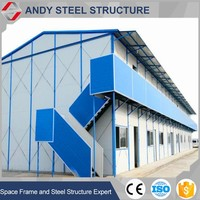 multi-storey steel warehouse steel structure two story building