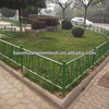 Powder coated decorative and protection stainless steel fence