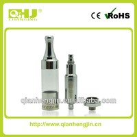 QHJ original newest design dry herb/ wax/ oil clearomizer fit for mechanical mod, eovd, Regal, and ego battery mod
