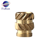 Customized Thread Brass Inserts M8 Insert
