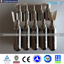 Good price of 60G CO2 cartridge with CE TPED certificate By China manufacturer
