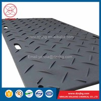 hdpe road mats plastic ground cover sheet
