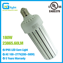 1,000W metal halide replacement retrofit E39 mogul base E40 277V 110V parking lot warehouse 180W Corn cob LED light