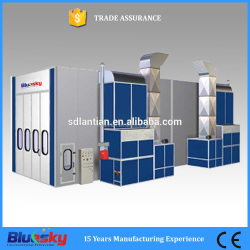 China supplier polish spray booth/painting car oven/truck spray booth
