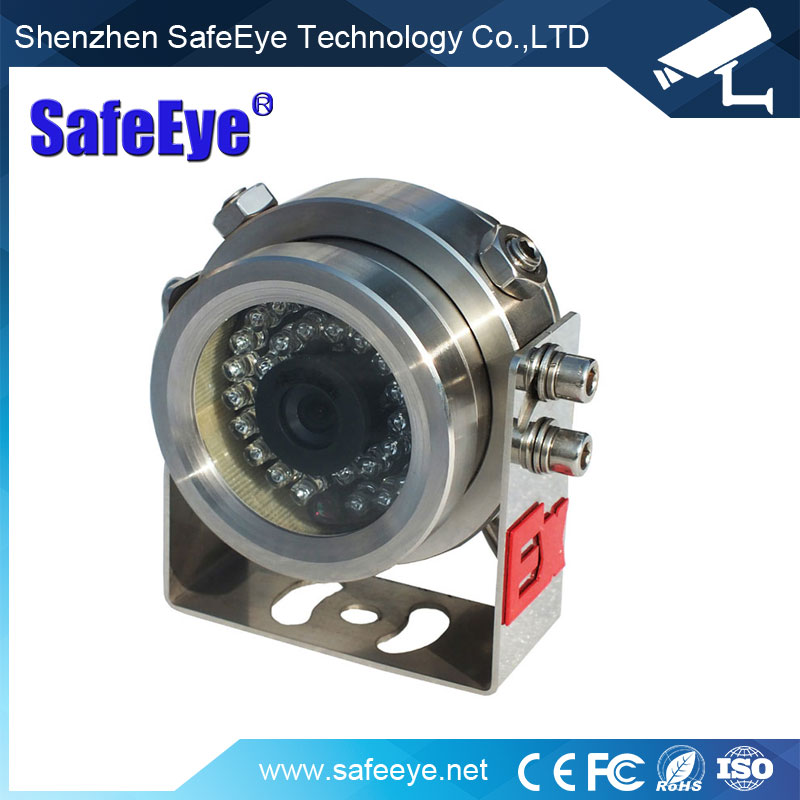 Waterproof IP68 DC12V 700TVL CCD Silvery Explosion proof anti-explosion Camera With IR 10~30m