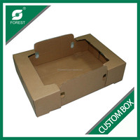 PLAIN DOUBLE WALL CORRUGATED CUSTOM FRESH VEGETABLE PACKING TRAYS FOR SALE