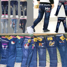 2.15 Dollar Boys And Girls 6-14 Years Wholesale Jean/Denim Jean/Jeans Stocklot (gdzw330)