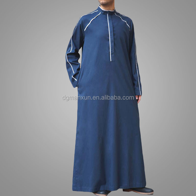 New design abaya men jubba thobe new style islamic muslim men thobe