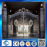 wrought iron casting flower for gate or windows or Stair handrail's decorations