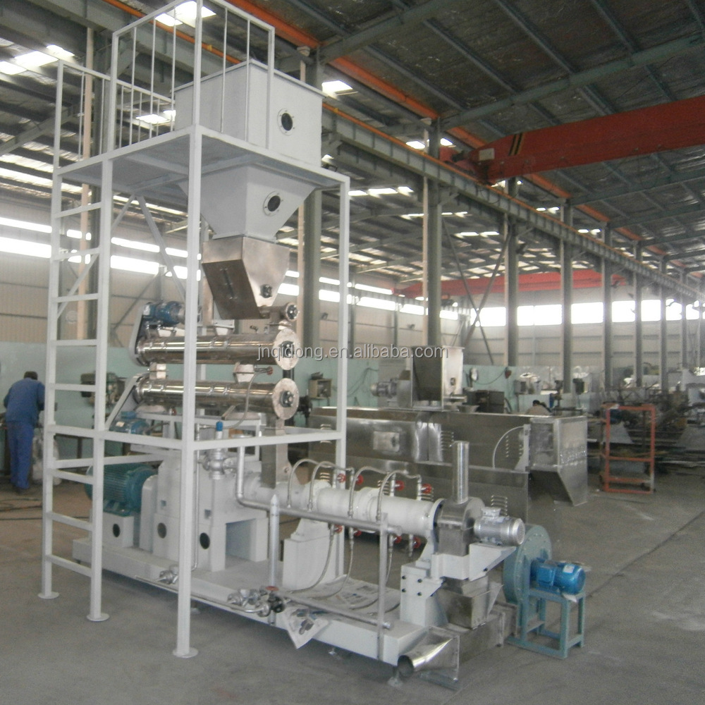 Chewing Jam Center Pet Food Processing Line , Fish / Dog Food Machine