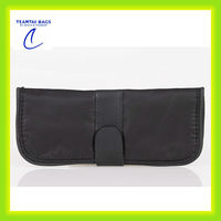 High quality soft pu make up brush bag