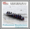 recreational new design hot sale racing eight racing rowing shell/boat 8+