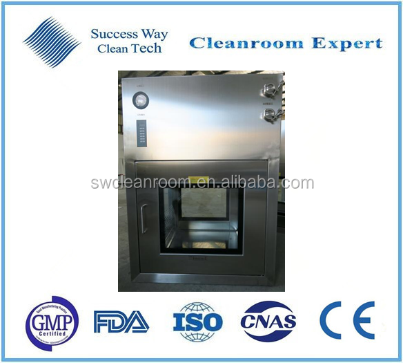 GMP / CE / ISO Stainless Steel Passbox for Clean Room