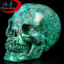 new product The Original Ecological Chrysocolla Crystal Skulls