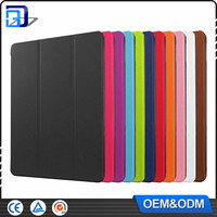 Wholesale Tablet Case 3 Folds Stand Leather Folio Case for iPad Pro 9.7