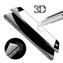 Hot 3D Edge Tempered Glass For iPhone 7 7 Plus Full Cover 3D Round Curved Protective Premium Screen Protector Film Glass