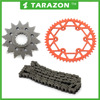 Best quality dirt bike colored motorcycle chains and sprockets