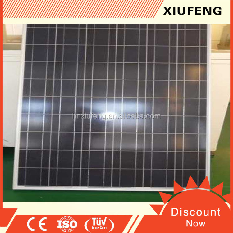 Polycrystalline Silicon Material1640*992*40mm Size 300 watt solar panel system