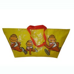 Factory audit eco-friendly cheap promotional shopping give away spunbond fashion glitter non woven bag