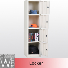 4 tier high quality compartment steel locker for changing room