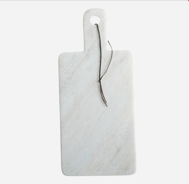 White carrara marble kitchen accessories marble serving board