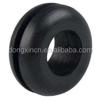 Flame retardant neoprene Rubber Cable Grommets/fire resistant rubber grommet/electrical grommets
