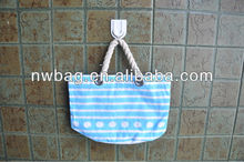 2013 Best-selling Stripe Canvas Beach Tote bag