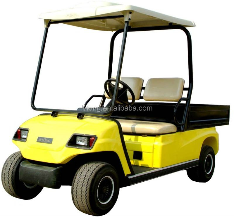 2 person electric battery operated golf utility cart