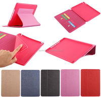 New products of high quality PU leather case for ipad air 2,smart cover for apple ipad air 2