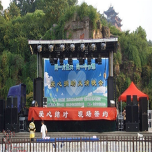Outdoor Truck/Mobile LED Board solution Truck & Trailer LED Displays led mobile stage truck for sale