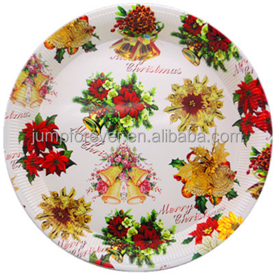 round plastic plate hot sale promotion gift tableware,plastic food tray,charger plate